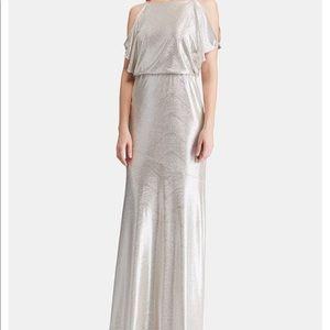 Gold/sliver Ralph Lauren Dress